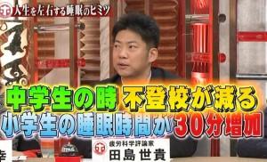 田島世貴先生【披露科学】